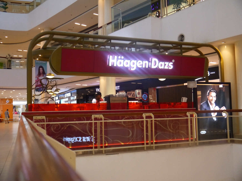 Haagen-Dazs @ Queensbay Mall, Penang